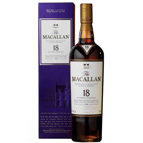 Macallan Sherry Oak 18y Whisky